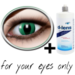Green contact lenses (Anaconda) product image