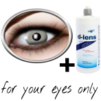 Grey contact lenses (Vampire Grey) product image