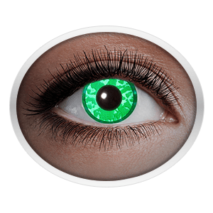 Green contact lenses (UV Green Diamond) product image