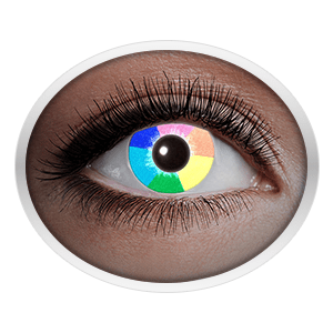 Rainbow contact lenses (UV Rainbow) product image