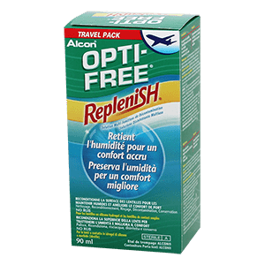 Optifree Replenish 90ml Travel Pack product image