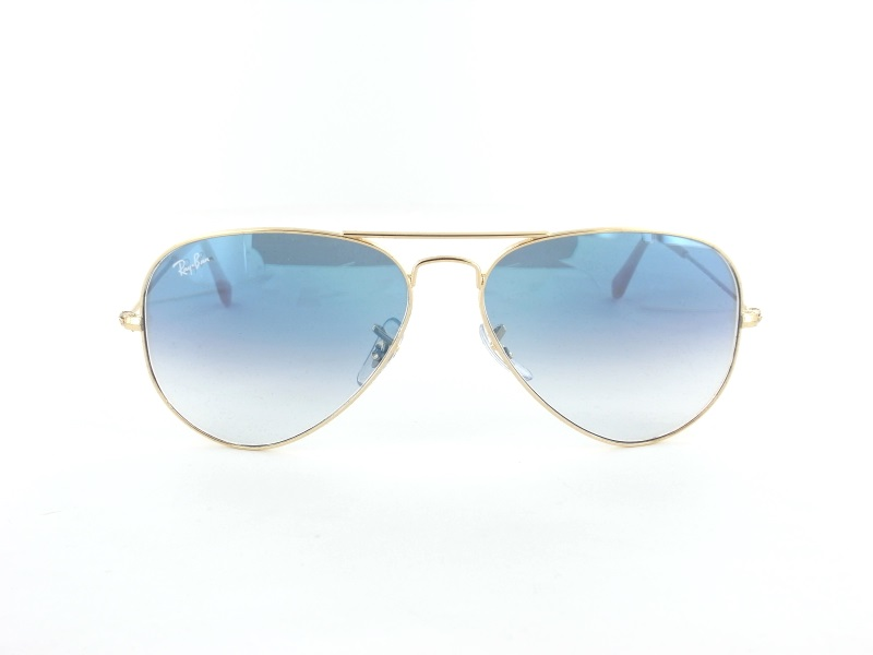 Ray Ban RB3025 001/3F 58 Large Aviator Pilotenbrille