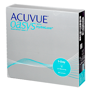 1-Day Acuvue Oasys with Hydraluxe 90