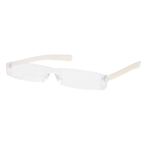 Reading glasses Seattle white clear product image
