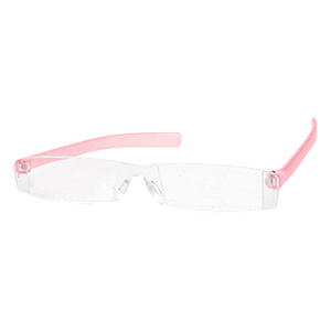 Reading glasses Seattle pink