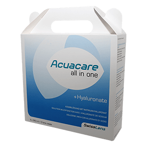 Acuacare All-in-One mit Hyaluronate 3x360ml product image
