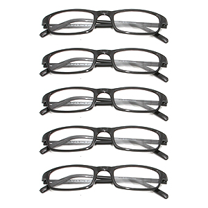 reading glasses Phoenix black savings package(5 pcs.)  product image
