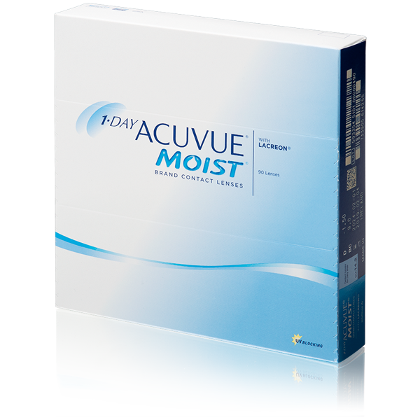1-Day Acuvue Moist 90