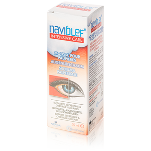 Naviblef Intensive Care Foam for the Eylids 50ml